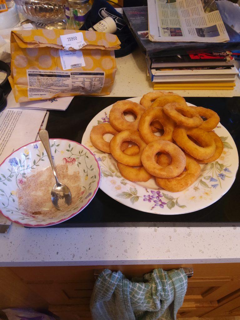 Mochi Flour Doughnuts
